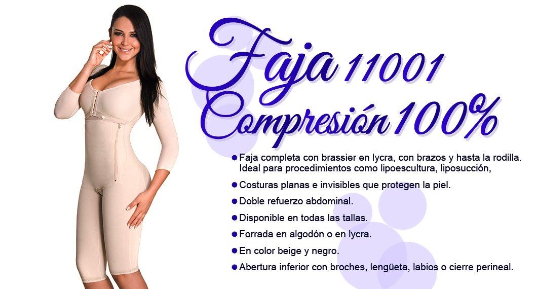 Faja 11001 Compresion 100